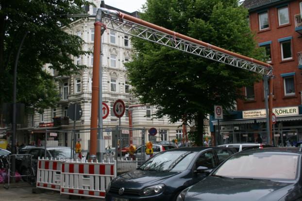 Rohrleitungen zur Beseitigung von Umweltgift. Foto: Anja von Bihl