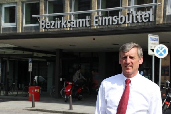 Bezitksamtsleiter Thorsten Sevecke. Foto: Henning Düsterhoff