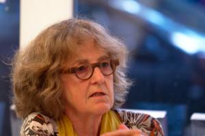 Susanne Lohmeyer ist federführend bei der Recherche der Biographien. Foto: Tim Eckhardt