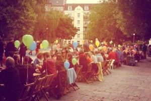Am Samstag soll es auf dem Else-Rauch-Platz wieder kunterbunt werden. Foto: Eimsbütteler Salon