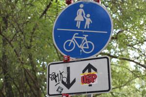 Verkehrsschilder in Hamburg Eimsbuettel. Foto: Eimsbütteler Nachrichten