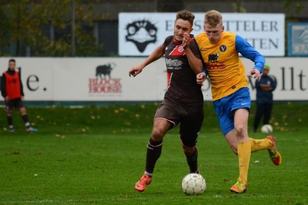 Die zweite Mannschaft vom FC St. Pauli gewann im November mit 2:0 im Stadion Hoheluft. Foto: Tim Eckhardt