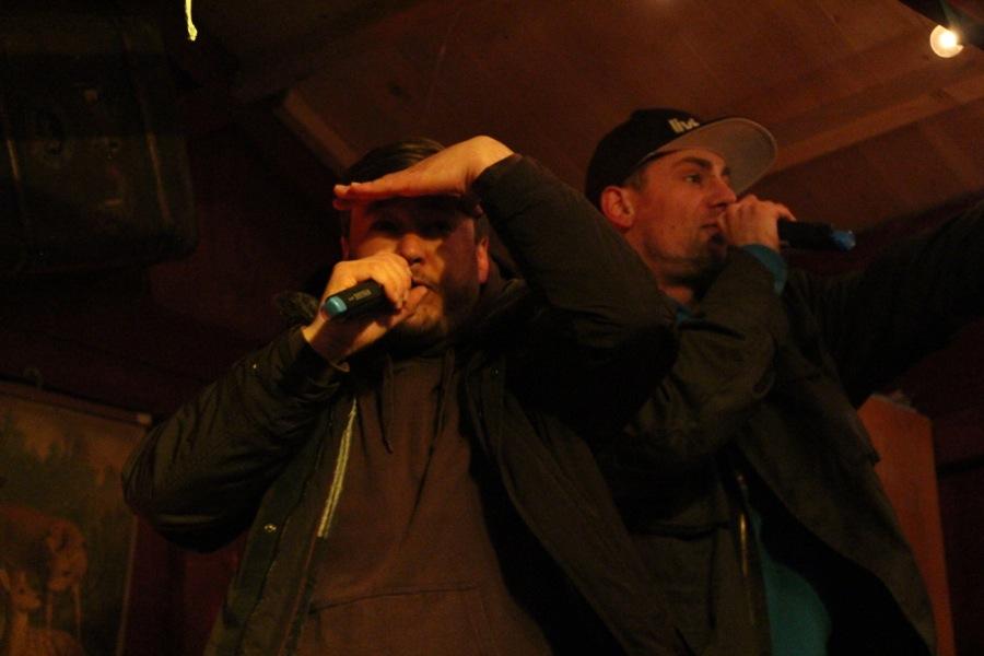 Rap auf Plattdeutsch brachten Blowm&Maddin. Foto: Ada von der Decken
