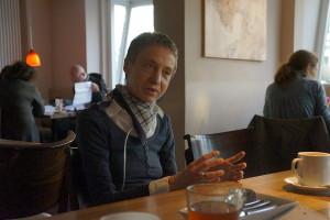 """""""Es kommt wie es kommt"""", sagt Heike Suzanne Hartmann-Heesch. Foto: Christine Klein"""