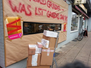 Die Paketboten wurden ihre Pakete in dieser Woche nicht los. Foto: Rebecca Wulf