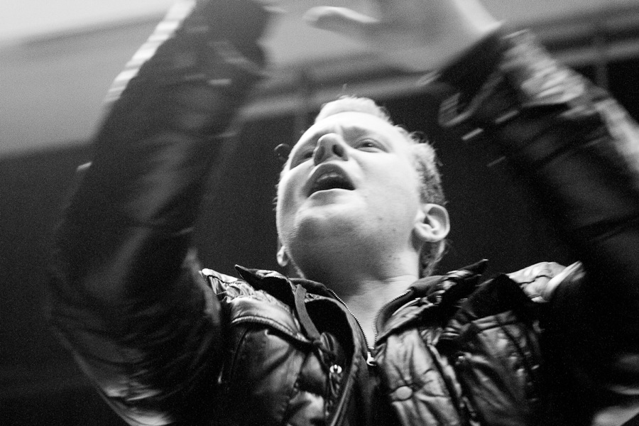 Timo Hempel freut sich. Foto: Moritz Gerlach
