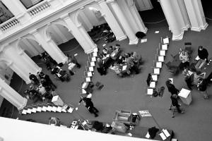 Unbemerkt von den meisten Studenten fand die Neuauszählung in der Stabi statt. Foto: Moritz Gerlach