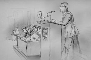 Parteienzersplitterung in der Bezirksversammlung? Illustration: Christine Klein