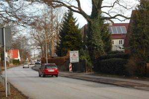 Niendorfer Straße. Foto: Anja von Bihl