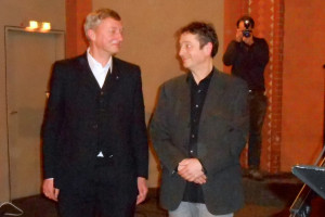 Sieghard Wilm und Martin Paulekun. Foto: Anja von Bihl