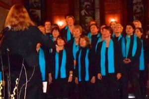 "Gospelchor ""Chrossroads"", Ltg. Constanze Kowalski. Foto: Anja von Bihl"