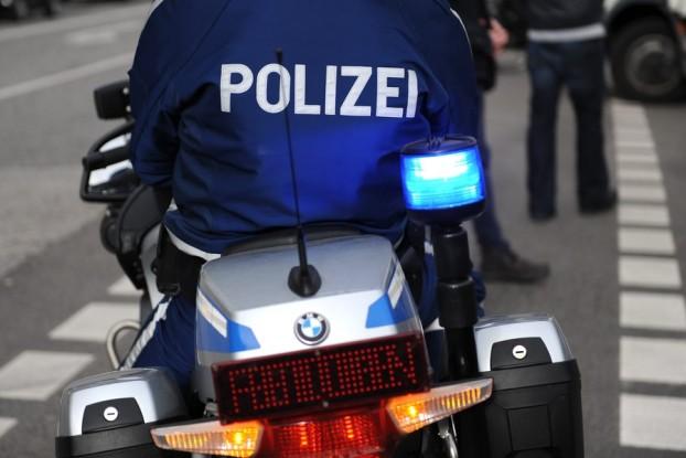 Die Polizei im Einsatz