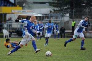 Der VfB-Oldenburg ging als Tabellen-Zweiter als Favorit in das Spiel. Foto: Tim Eckhardt