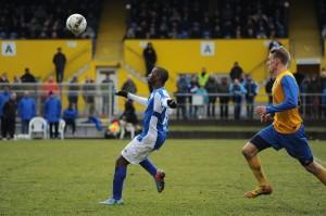 Nach einigen Minuten fand der VfB Oldenburg besser ins Spiel. Foto: Tim Eckhardt