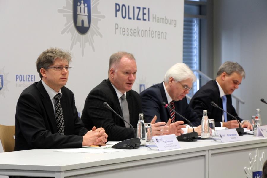 Die Kriminalitätsstatistik 2013 wurde vorgestellt. Foto: Ada von der Decken