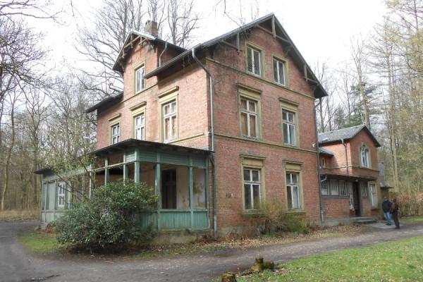 Mutzenbecher-Villa im Niendorfer Gehege. Foto: Anja von Bihl