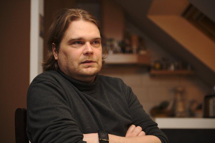 Alexander Bernhardt ist seit einem Jahr Freifunker. Foto: Tim Eckhardt