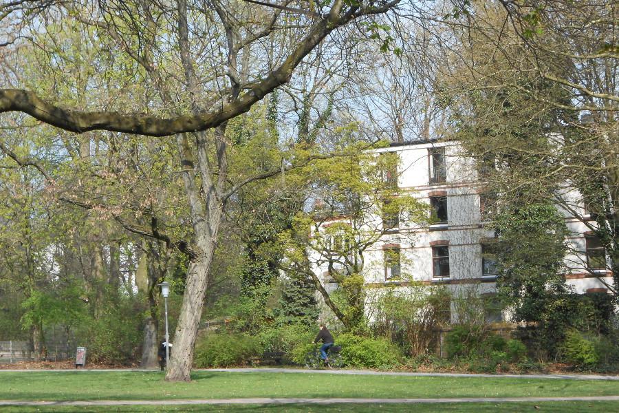 Im Wehberspark. Foto: Anja von Bihl