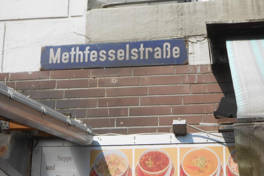 Straßennamen: Methfesselstraße