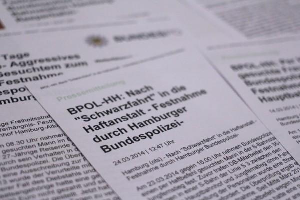 """""""Trottel-Meldungen"""" mischen sich unter die Polizeimeldungen. Foto: Ada von der Decken"""