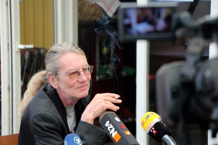 Die Lesung des Eimsbütteler Autors Wulf Beleites wurde wegen massiver Beschwerden und Drohungen abgesagt. Foto: Ada von der Decken