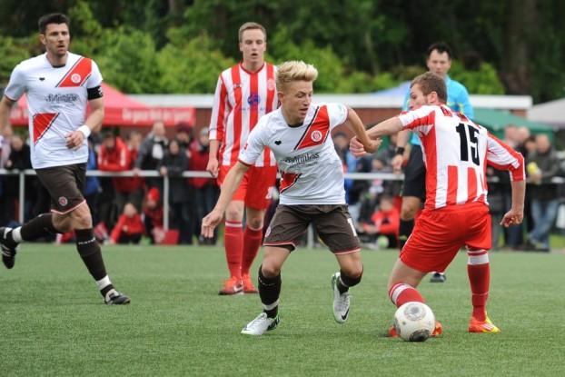 Der FC St. Pauli empfängt den Lüneburger SK. Foto: Tim Eckhardt