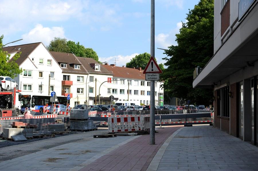 Finde den Fehler! (Kieler Straße, Ecke Sportplatzring) Foto: Eimsbütteler Nachrichten