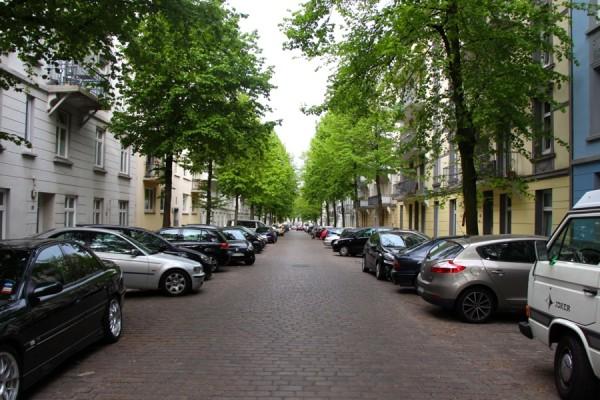 Der Luruper Weg heute. Foto: Ada von der Decken