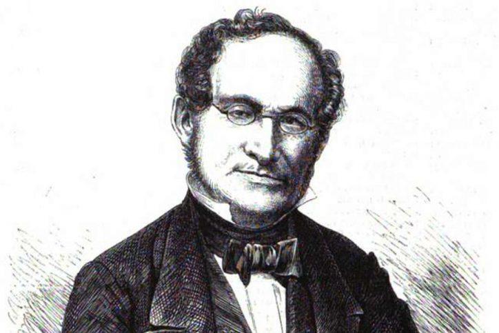 Albert Methfessel. Quelle: Illustrirte Zeitung 1864