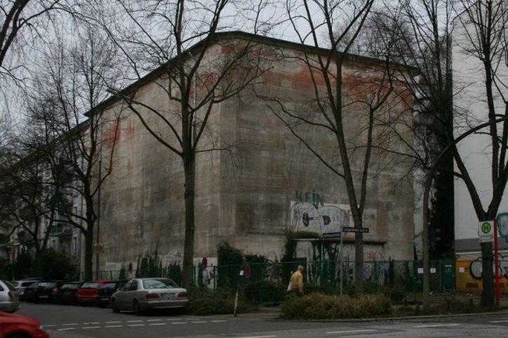 Der Bunker wurde mittlerweiel abgerissen, um Platz für neue Wohnungen zu schaffen. Foto: Anja von Bihl