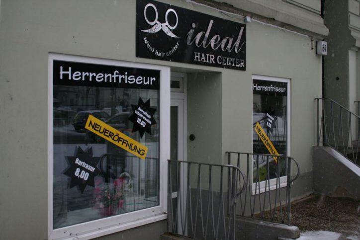 Ideal Hair Center Herrenfriseur Methfesselstr. 84. Foto: Anja von Bihl