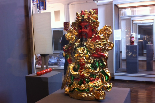 Den Hausgott Guan Yu findet man fast in jedem chinesischen Haus. Foto: Tanja Schreiner