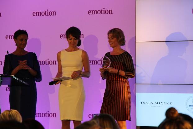 Granny-Aupair-Gründerin Michaela Hansen freut sich über die Auszeichnung. Foto: Nele Deutschmann