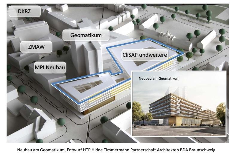 So soll der Neubau aussehen. Quelle: Wissenschaftsbehörde