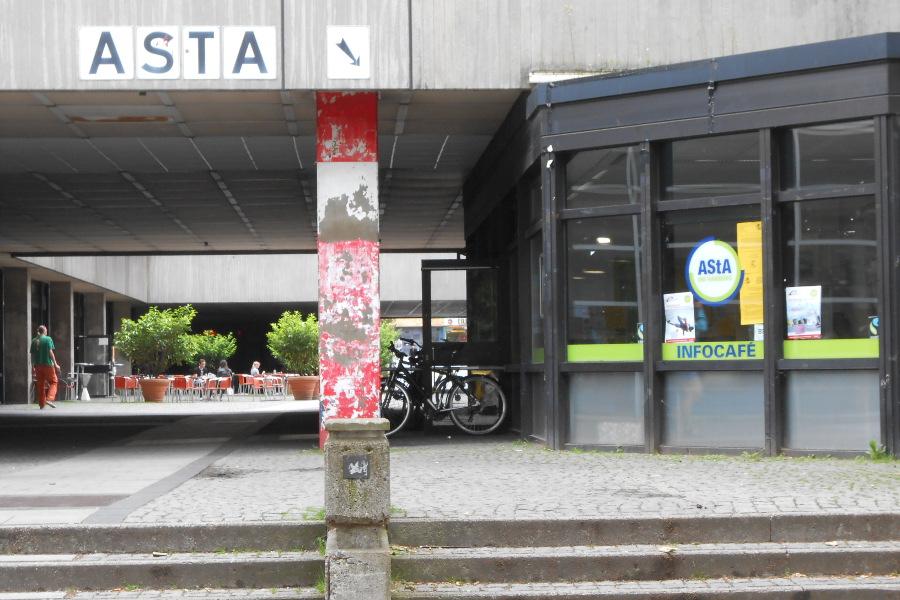 Hier sitzt der AStA. Foto: Anja von Bihl