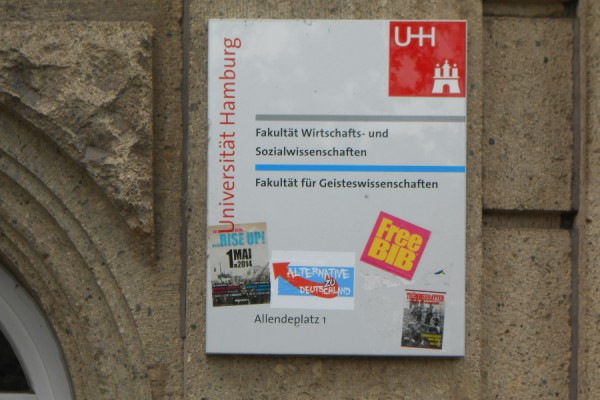 Uni HH. Foto: Anja von Bihl