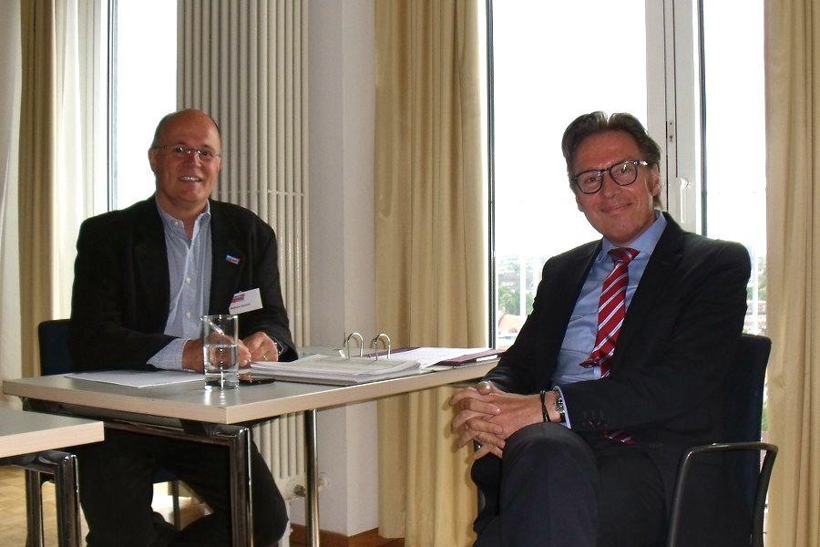 Die AFD ist mit Wolfram Heinrich und André Tierling neu in der BV. Foto: Neele Wulff