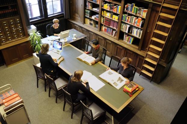 Bibliothek des Museums für Völkerkunde. Foto: Museum für Völkerkunde