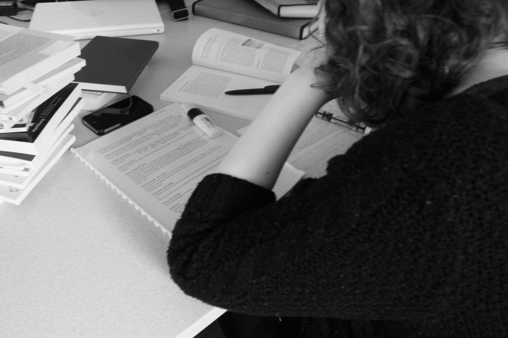 Viele Studenten leiden unter dem Stress und Druck in ihrem Studium. Foto: Tanja Schreiner