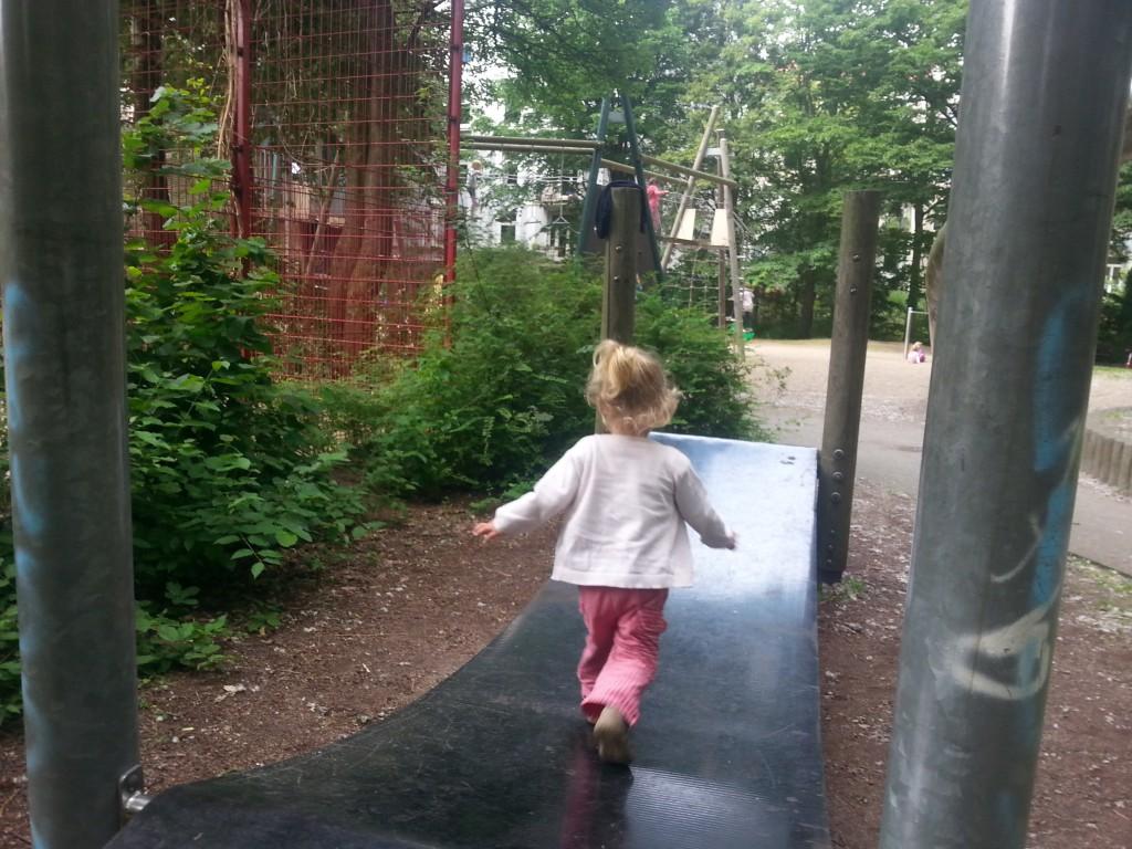 Einige Spielplätze können durch ungewöhnliche Spielgeräte punkten. Foto: Frau Sisyphos