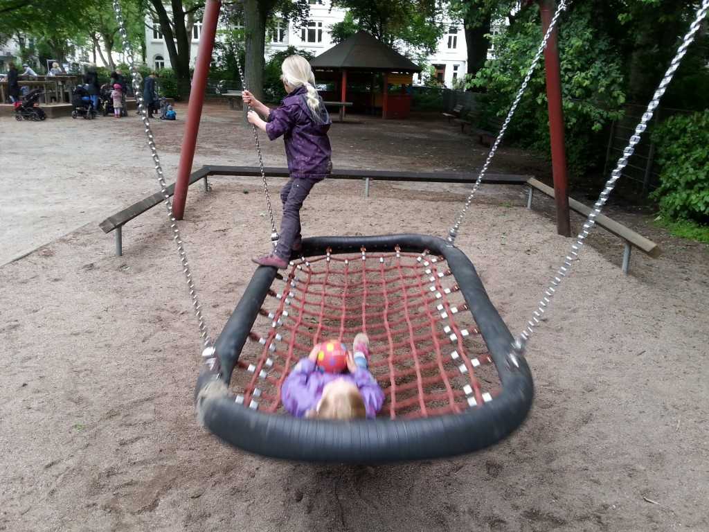 Gemeinsam spielen ist am Schönsten. Foto: Frau Sisyphos