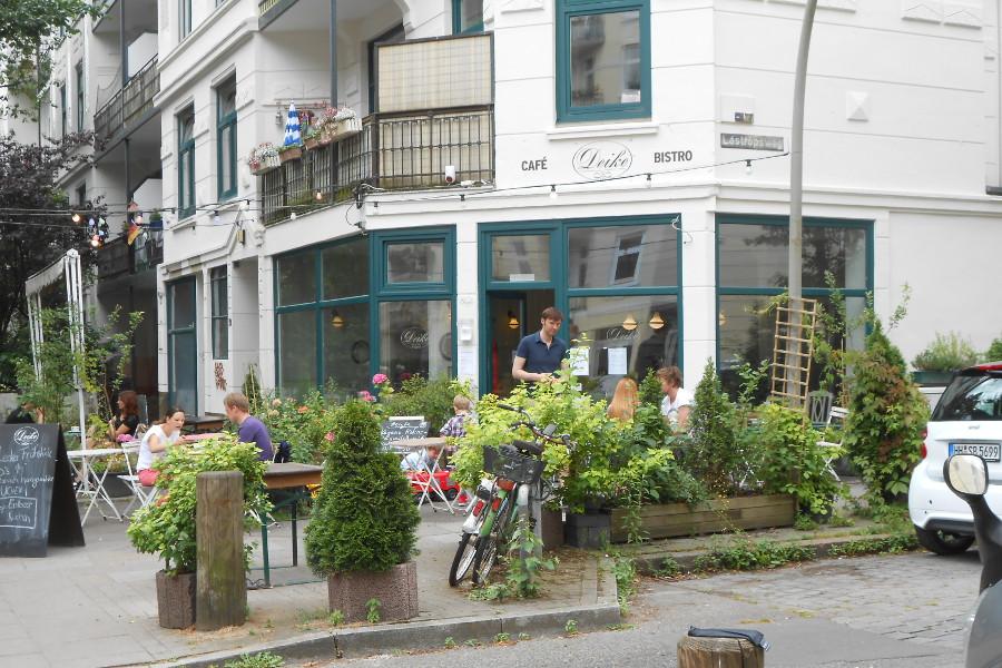 Café Deike. Foto: Anja von Bihl