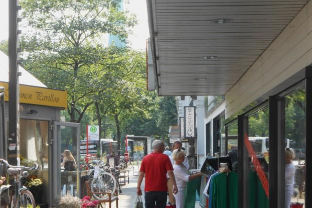 Shoppen am Eppendorfer Baum. Foto: Anja von Bihl