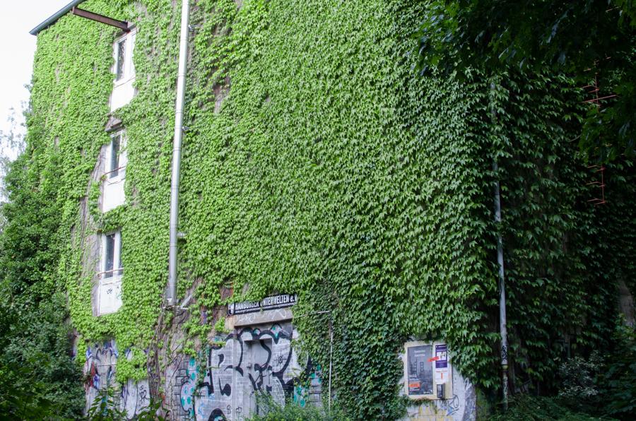 Der Bunker am Eidelstedter Weg sorgt für Diskussionspotential. (Foto: Henning Düsterhoff)