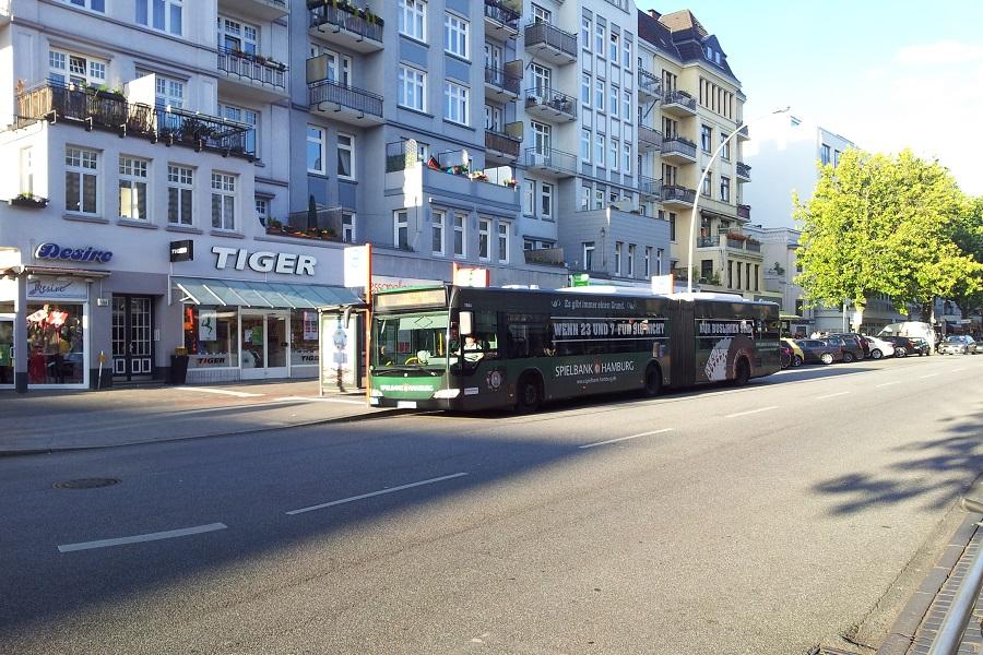 Beschleunig der Umbau der Bushaltestelle die Osterstraße? Foto: Jan Hildebrandt
