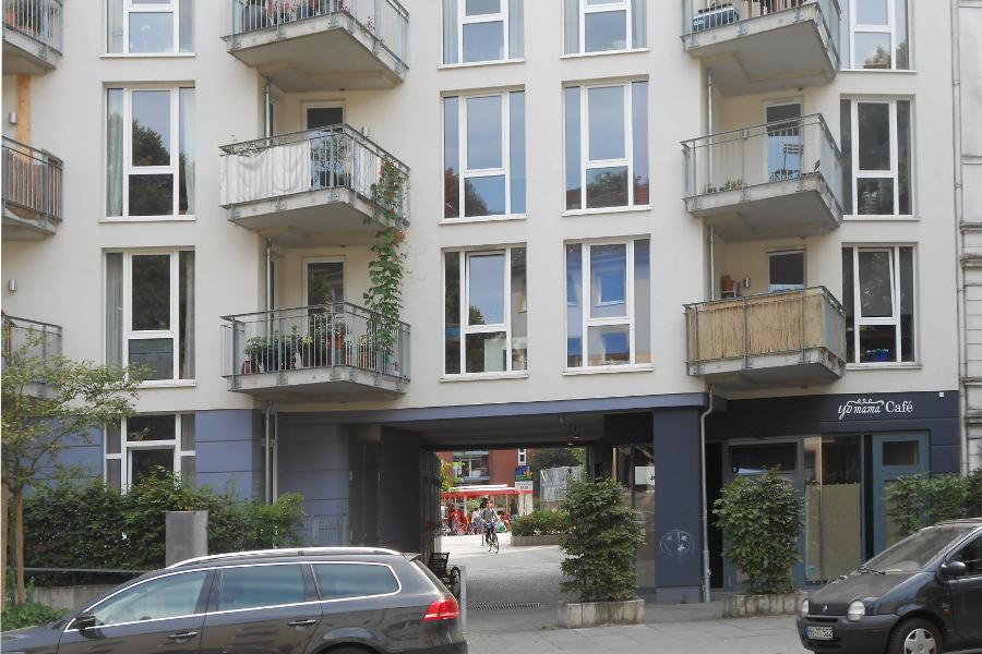 Von der Methfesselstraße zum Markt. Foto: Anja von Bihl