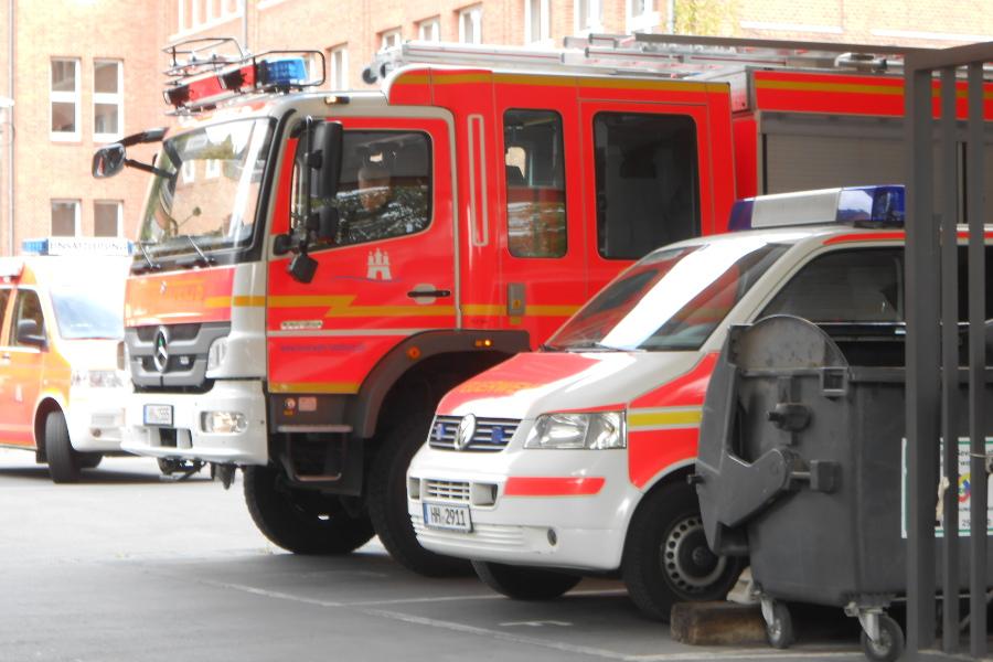 Explosionsgefahr wegen beschädigter Gasleitung
