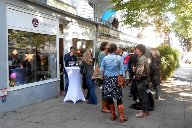 Eröffnung und Vernissage. Foto: Anja von Bihl