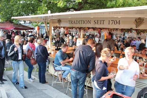Das Weinfest im vergangenen Jahr. Foto: Jan Hildebrandt