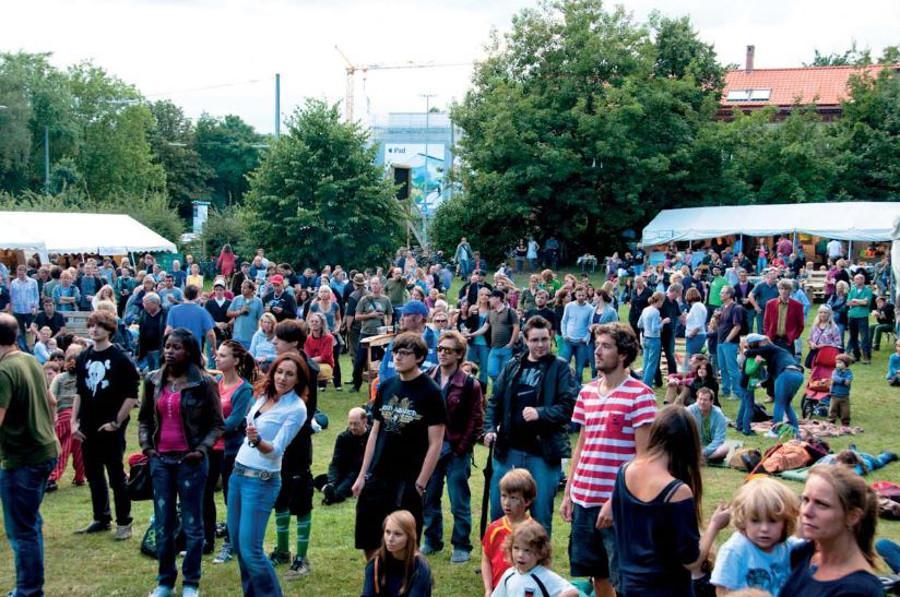 Sommerfest Schröderstift 2012. Foto: J.C.Walker